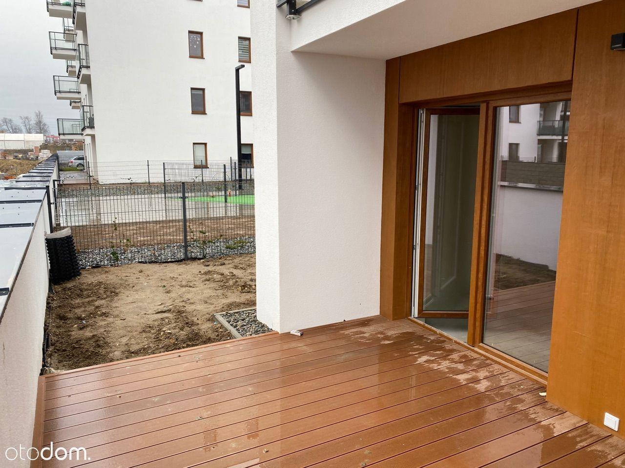 Mieszkanie 30,20m2 + taras 12,90m2 + ogródek 35m2