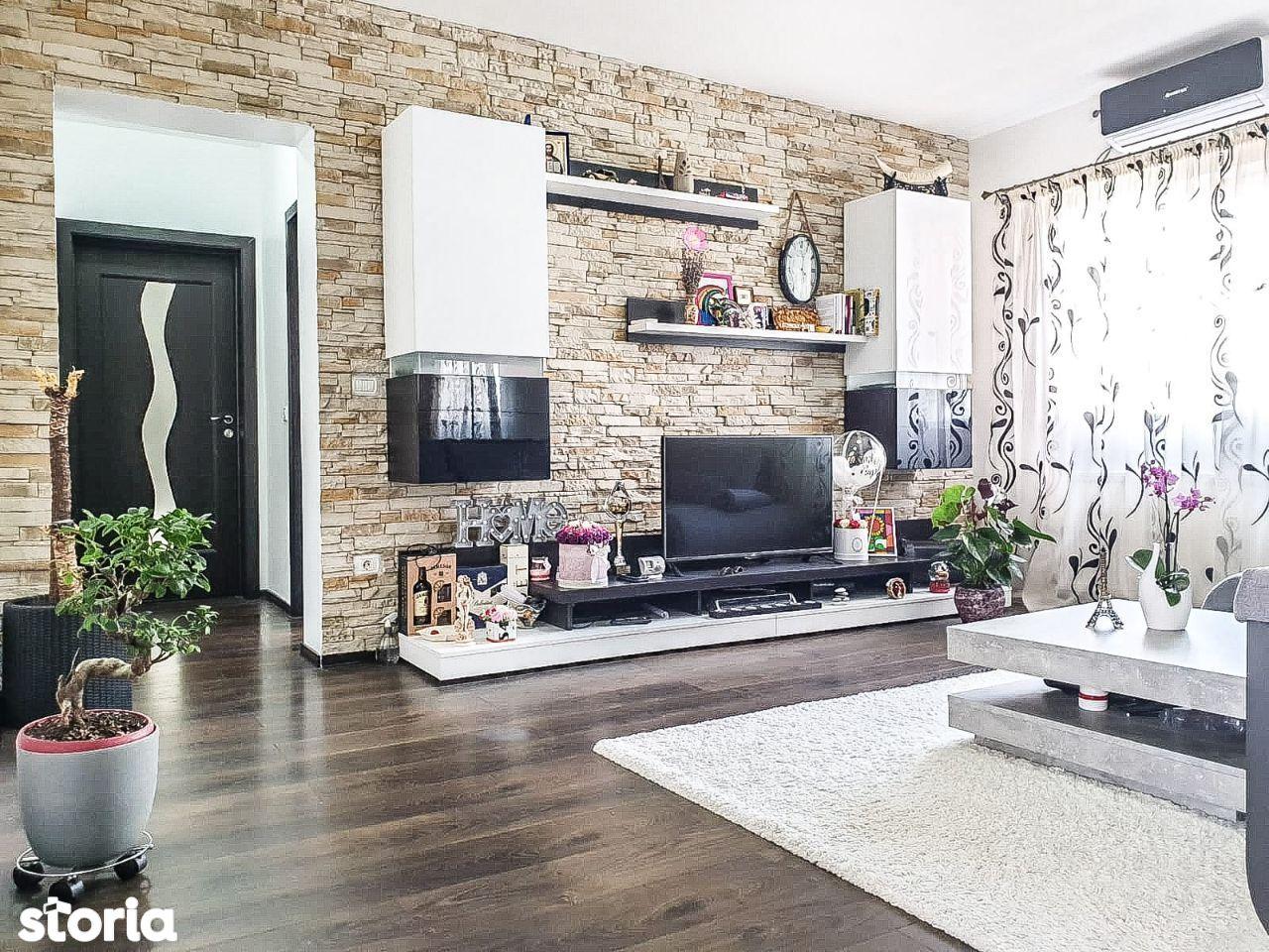 Giroc- 3 camere- et 1- lux- mobilat, utilat-106 m2!