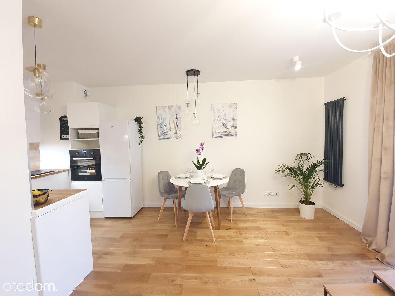 Apartamenty Duńska nowe 2-pokojowe +ogródek