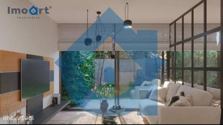 Apartamento T0 novo com garagem e jardim em Oliveira do Douro