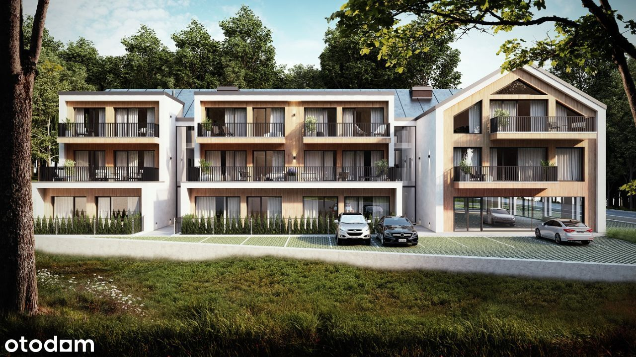 Apartament 2-pokojowy 52,16 m2 z dużym tarasem