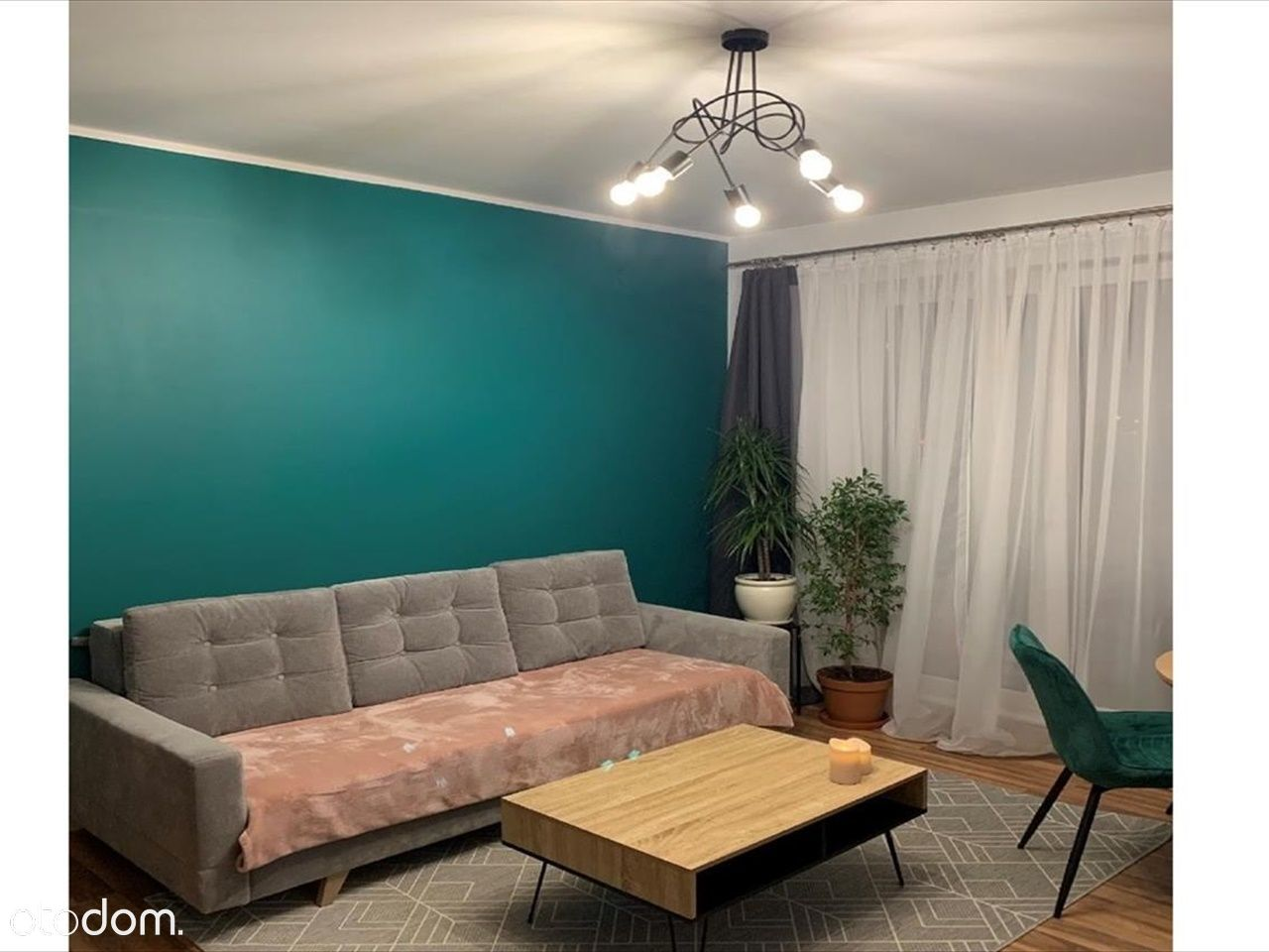 Mieszkanie, 50,37 m², Łódź