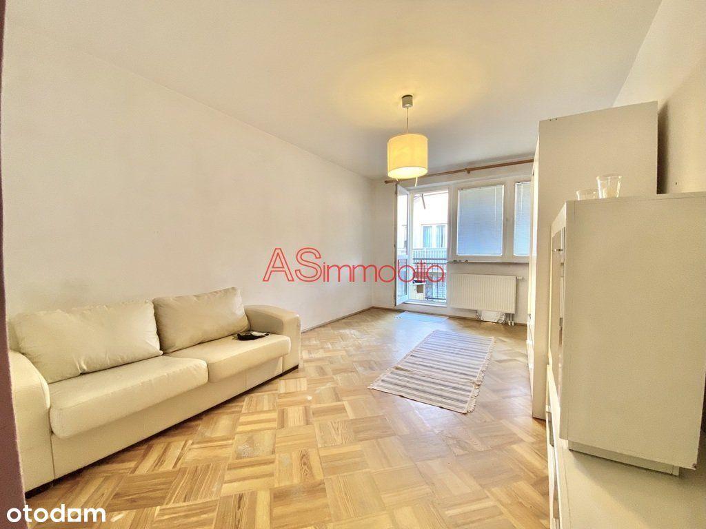 38m2, 1 pokój z kuchnią, balkon, parking
