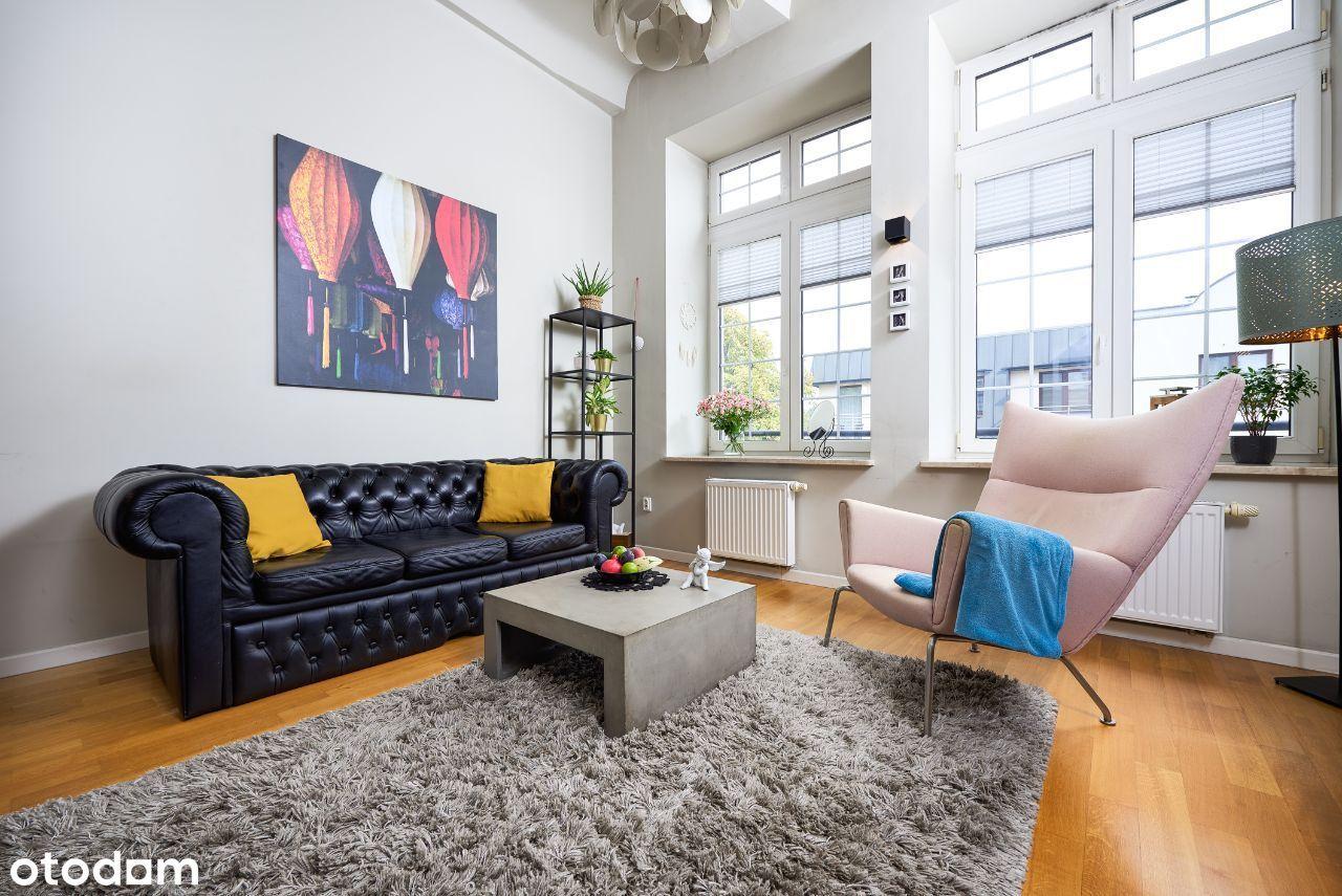 Apartament-loft z wyjątkowym klimatem