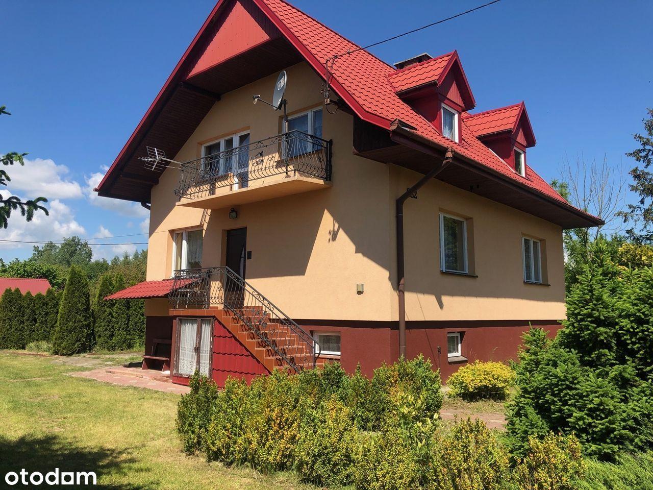Duży dom z jeziorem, siedlisko, Świeciechów Duży