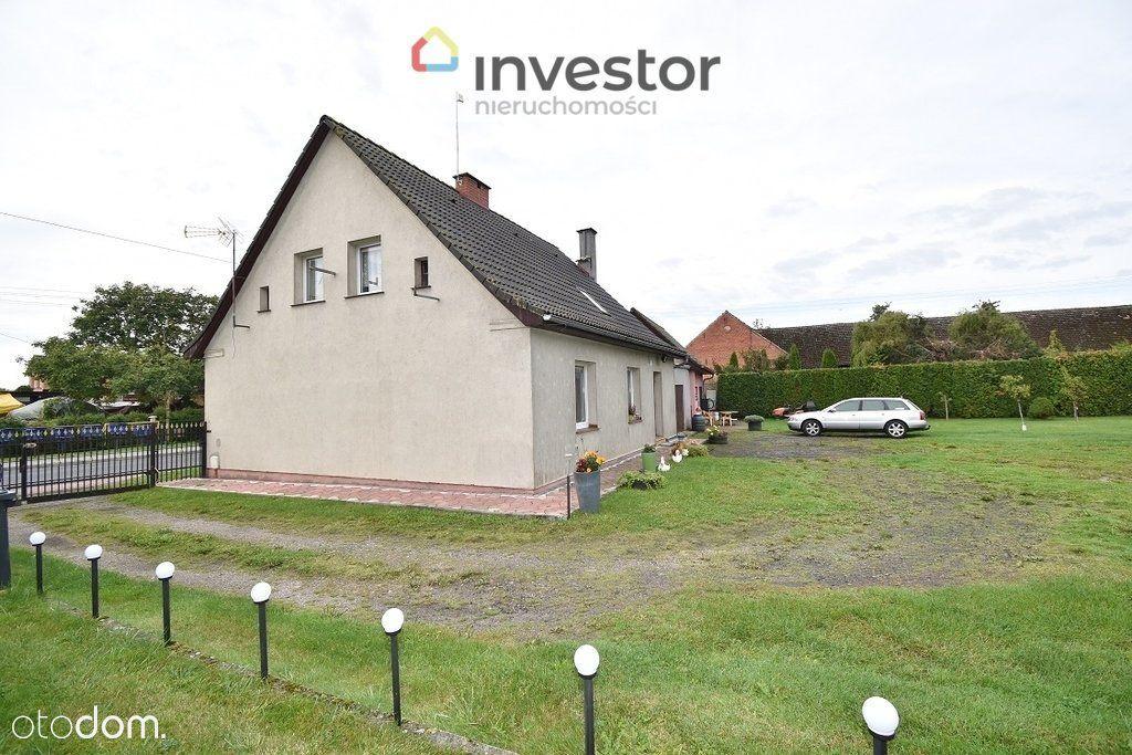 Dom z dużą działką w Noskowie, gm. Sławno.