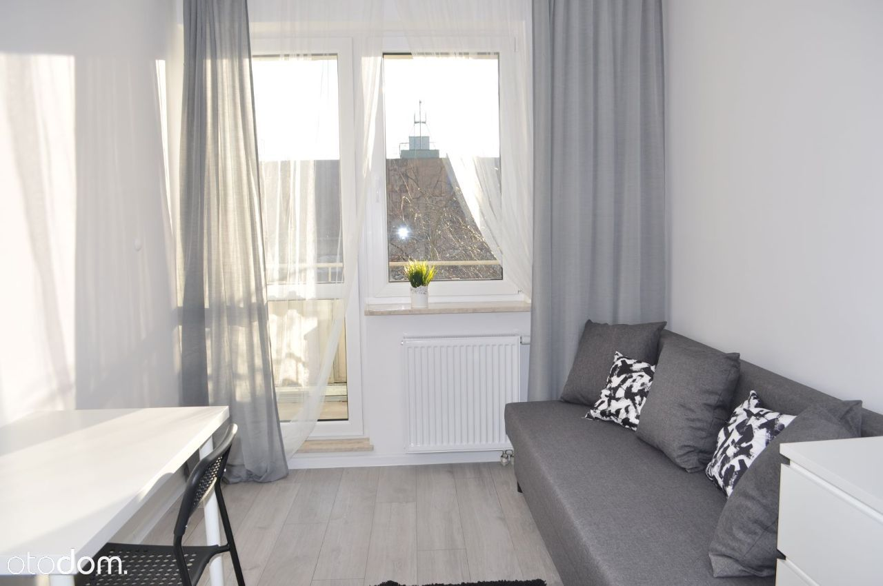 Duży pokój z balkonem dla 1os,2os/Imielin/Ursynów