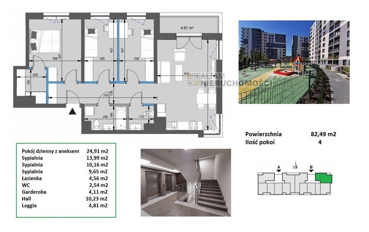 4pok+kuch 82m2|balkon|park|Mistrzejowice|0%|2021