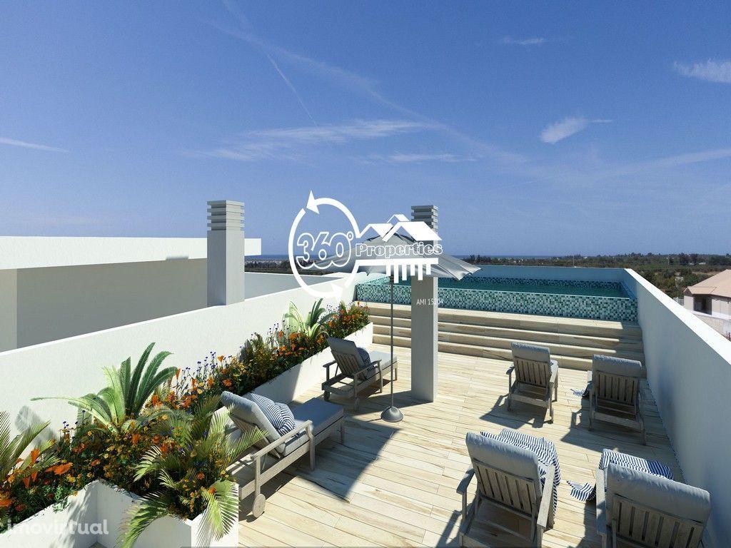 Apartamento T1 com jardim e piscina - Tavira