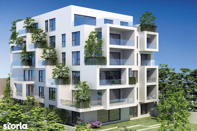 Apartament 3 camere cu curte - bloc NOU - Calea Calarasi