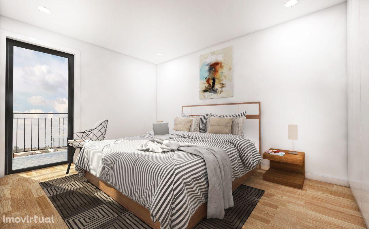 Apartamento NOVO T1 Kit em Leça da Palmeira