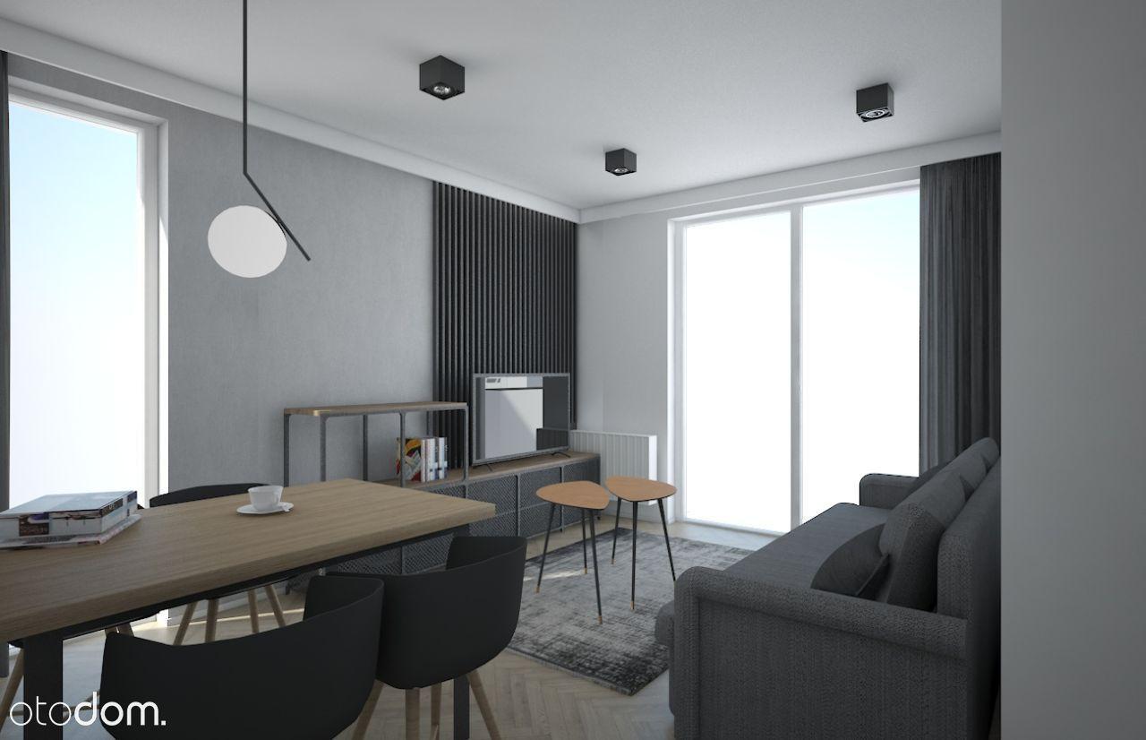 Mieszkanie 2 pokoje nieprzechodnie z ogródkiem