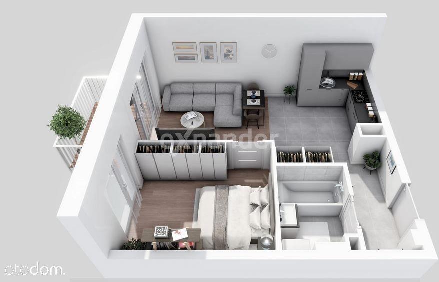 Nowe 2 pok.39mkw, kameralna zabudowa,balkon