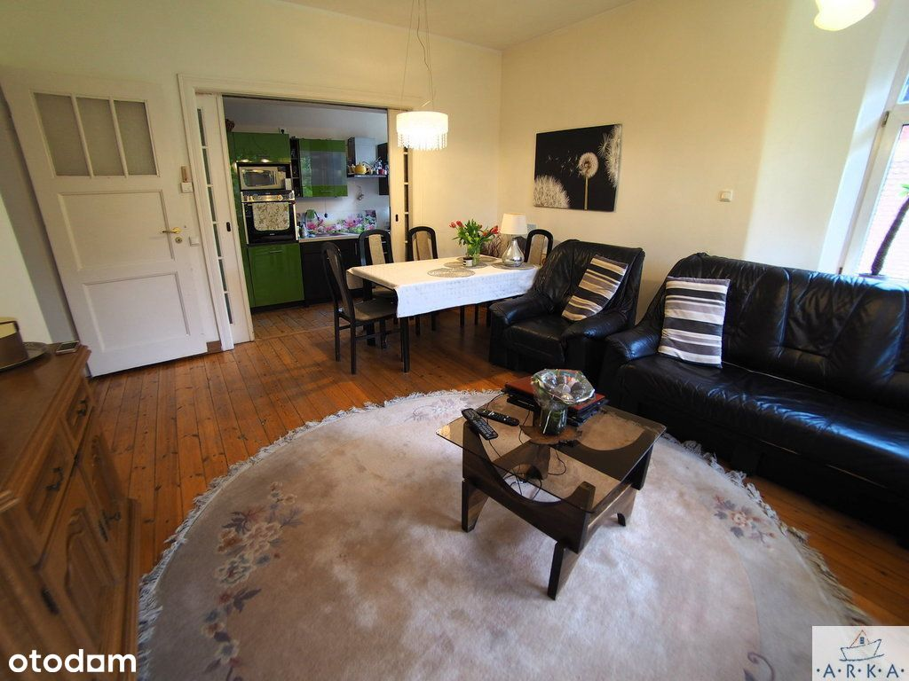 Mieszkanie w willi 82m Pogodno 4pok +ogród +garaż