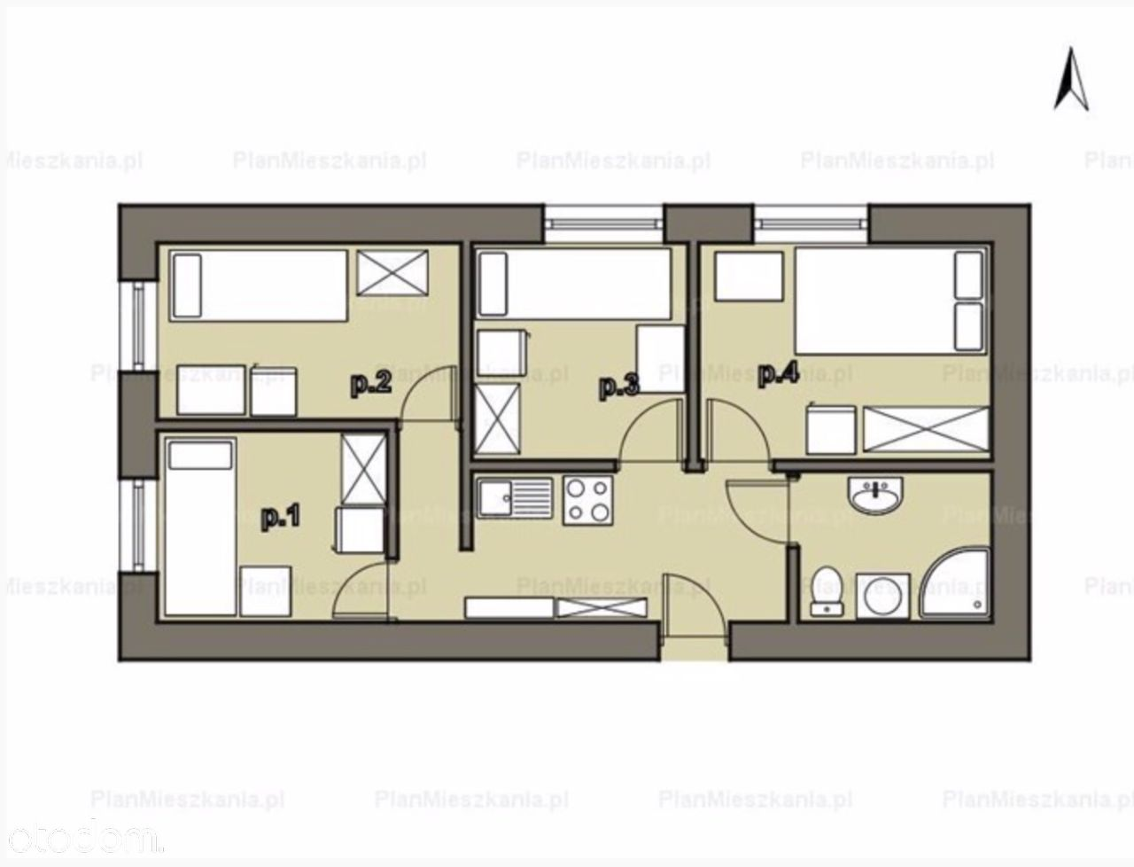 Gotowiec inwestycyjny mieszkanie na pokoje