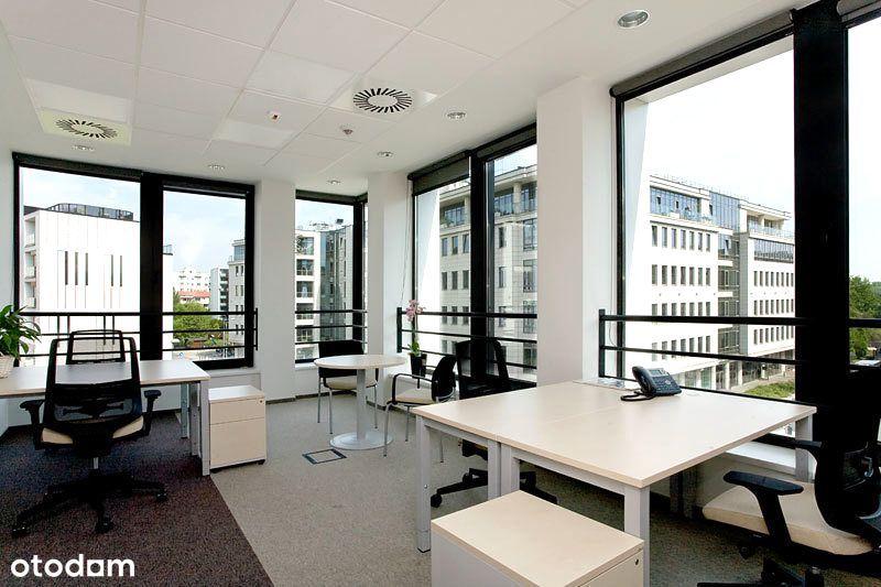 Eleganckie i umeblowane biuro na Powiślu