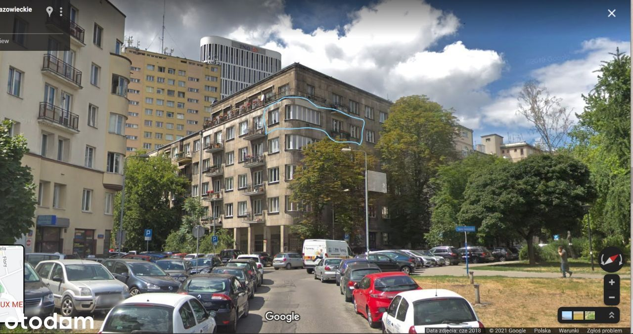 Mieszkanie w kamienicy, blisko Łazienek, 4p, winda