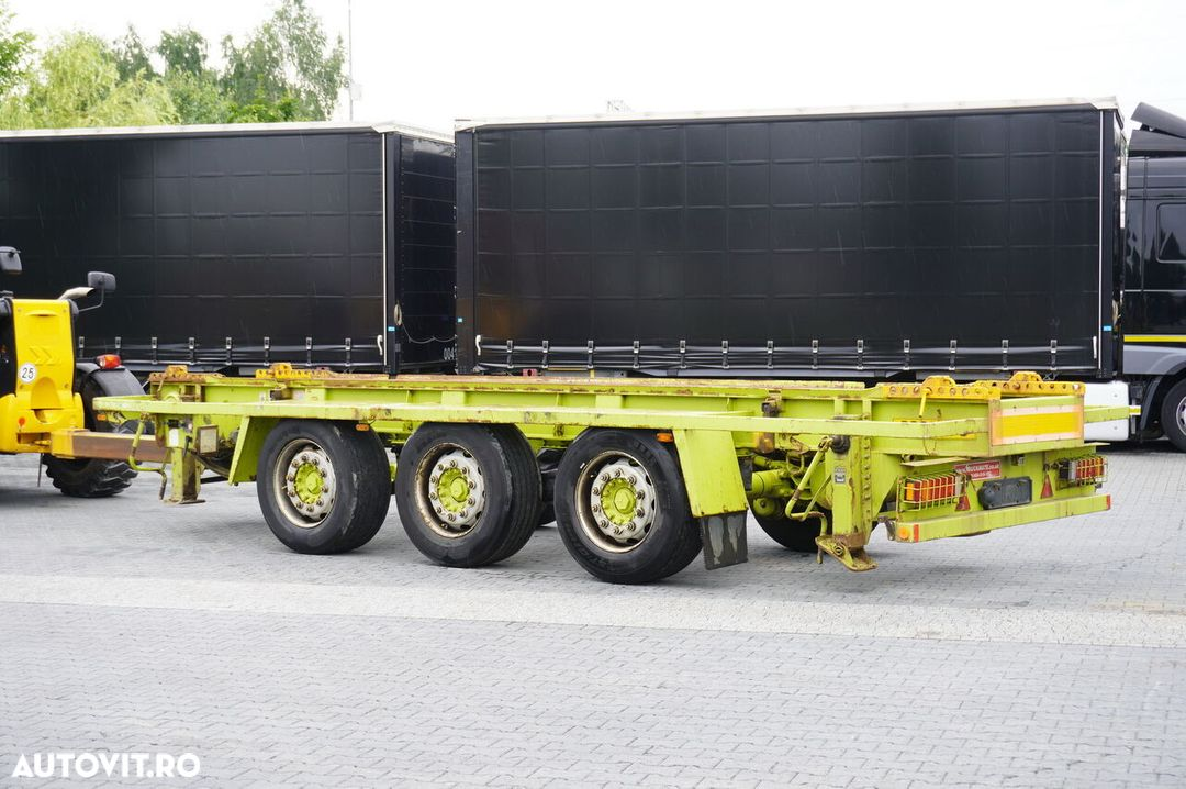 Krone Truckmate 3 axles , Roll-of tipper , 7m - 3