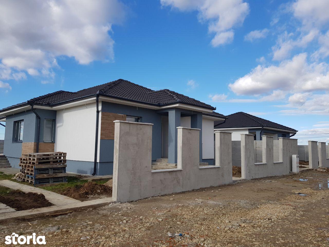 Casa noua 4 camere de vanzare in cartierul rezidential nou- Santandrei