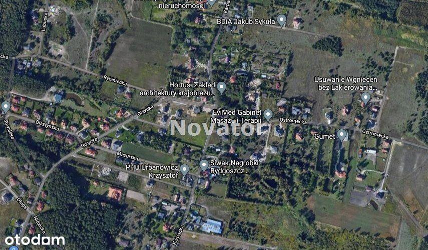 Działka, 1 280 m², Niwy