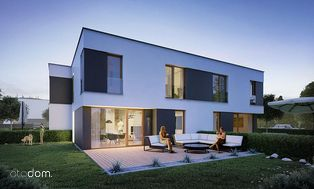 Nowoczesny dom na nowym osiedlu, najwyższa jakość