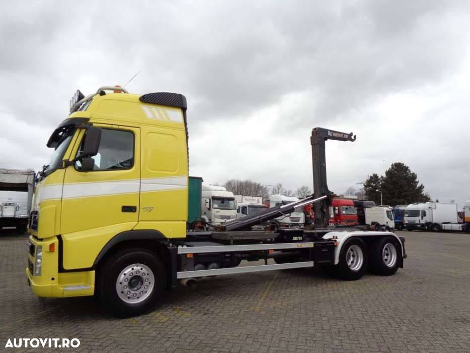 Volvo FH 400 + Euro 5 + 10 tyres + Hook system - 11