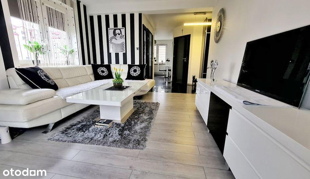 Efektowne mieszkanie 47m2 w stylu glamour, centrum