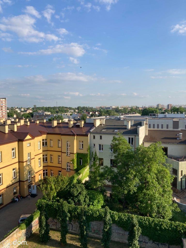 3-pok, widok miasta, balkon, parking, BEZ PIECYKA