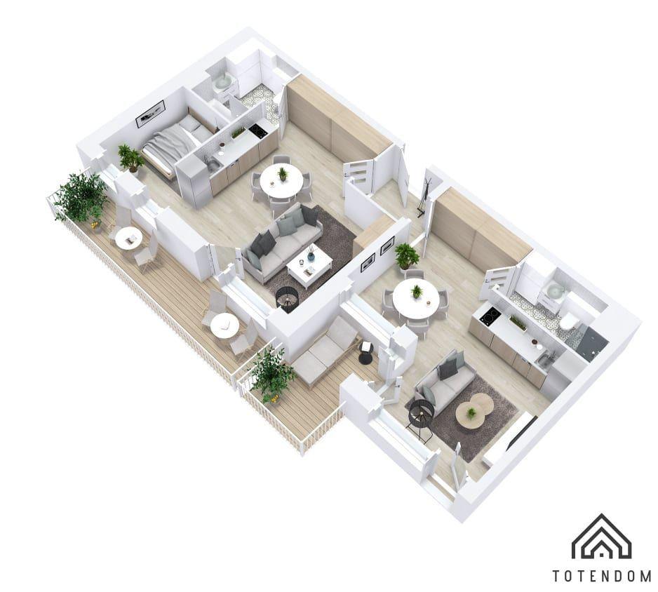 Mieszkanie inwestycyjne - 2pak -na PODOLANACH