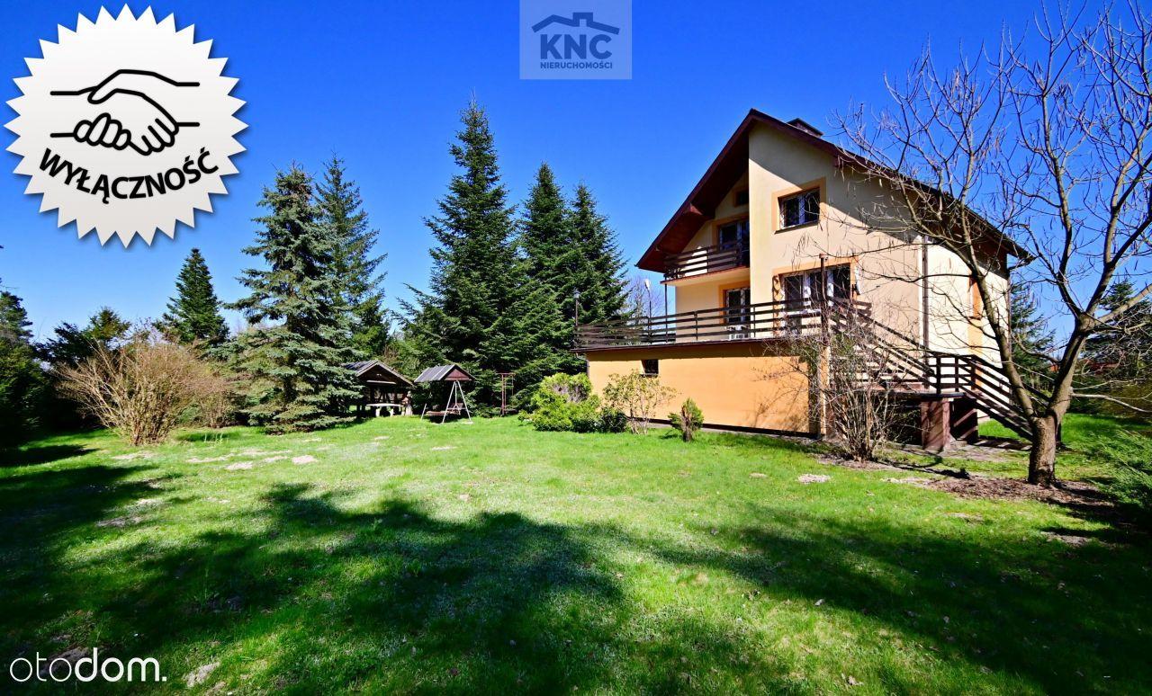 Dom na przepięknej działce tuż przy lesie -okazja!