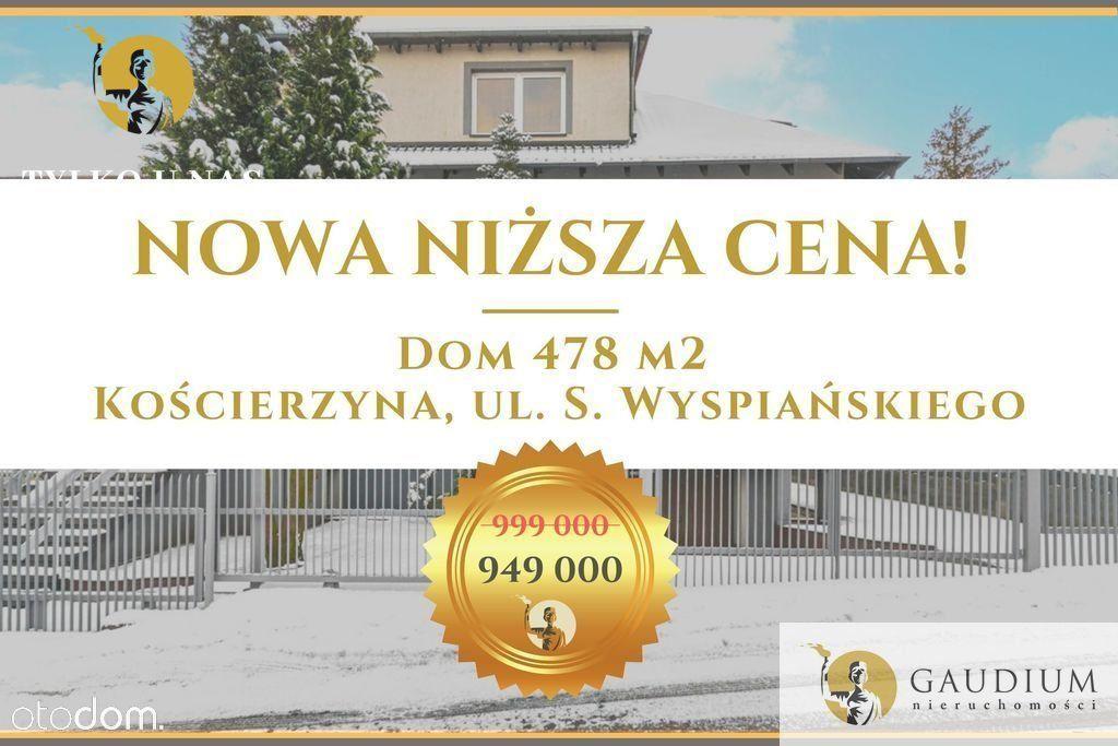 Dom Z Basenem 478 m2! Kościerzyna