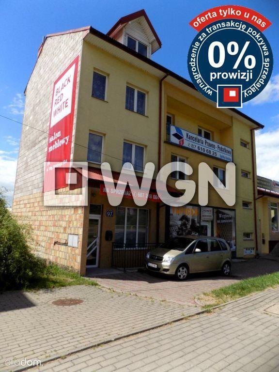 Budynke mieszkalno-usługowy w Centrum Ełku