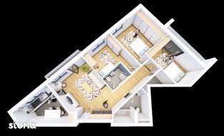 Solaris Prisma, Apartament 4 camere, str. Oasului nr. 51-55