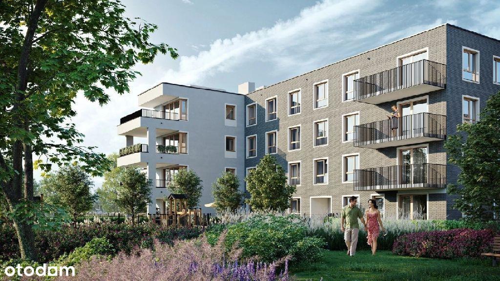 Duże mieszkanie 4 pokojowe na nowoczesnym osiedlu/
