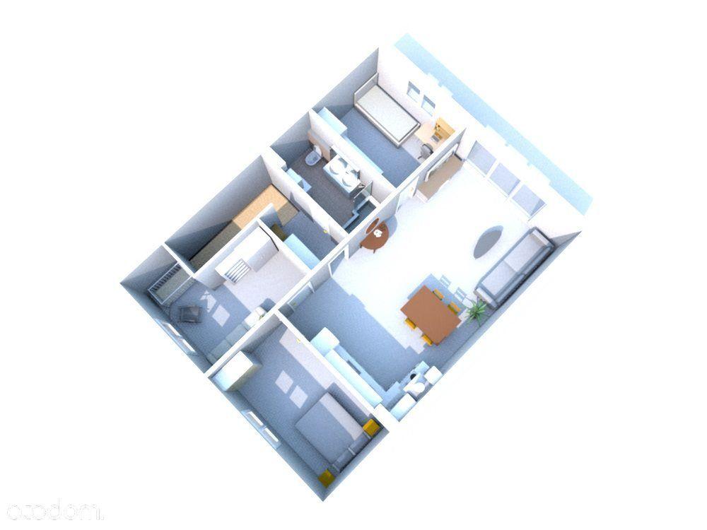 Czteropokojowe Nowy apartament w Koninie