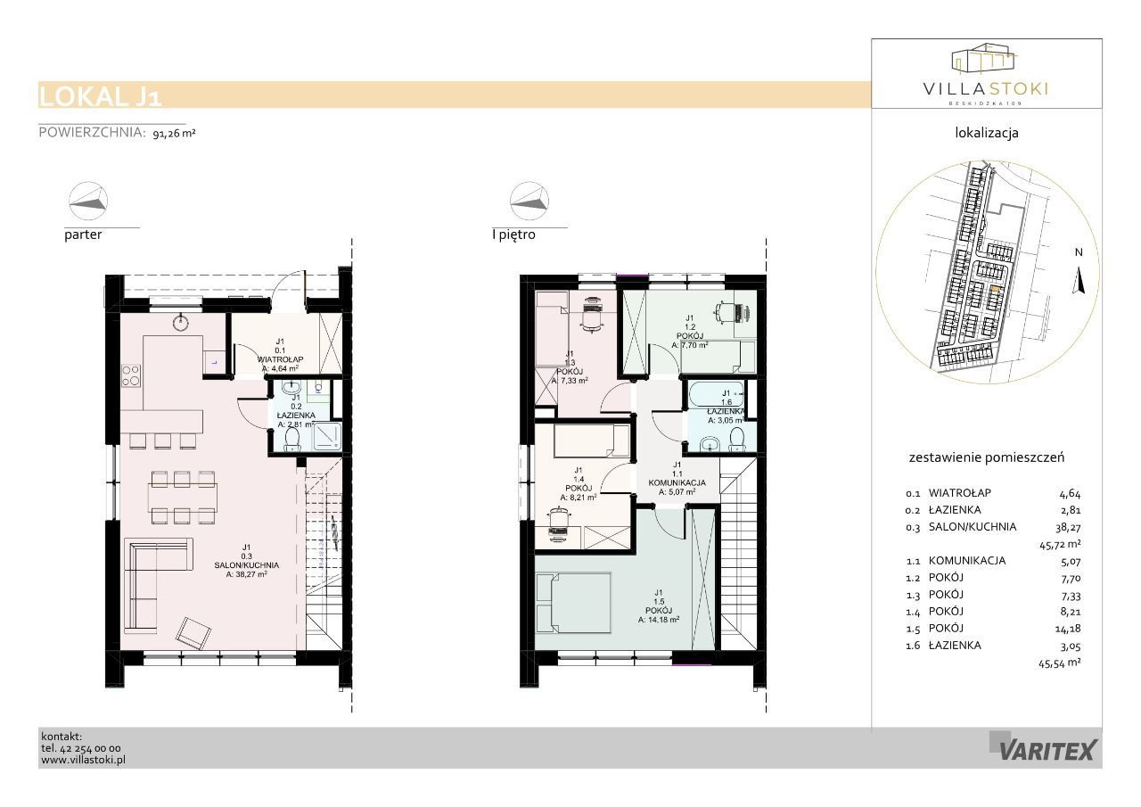 Dom typu 96 - Villa Stoki (dom J.01)