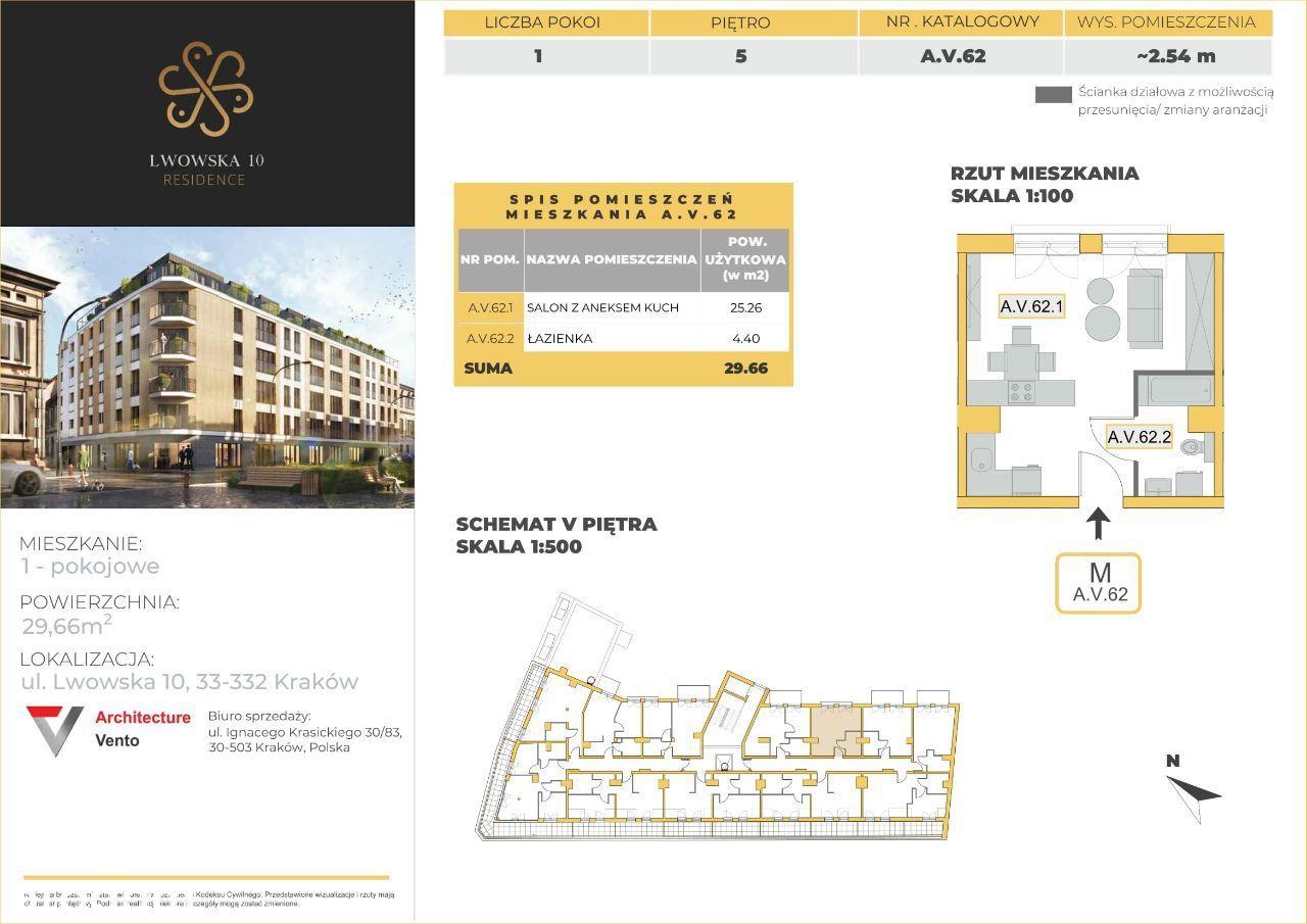 Lwowska 10 Residence | apartament A.V.62