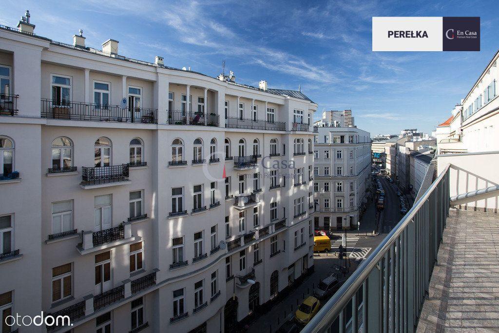 Wyjątkowe mieszkanie z 2 balkonami na Mokotowskiej