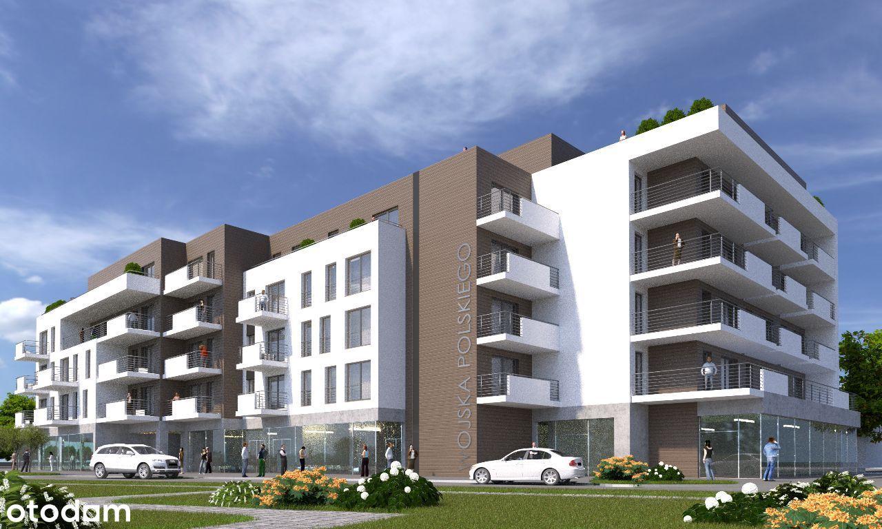 Lokal w nowoczesnym apartamentowcu w centrum Żor