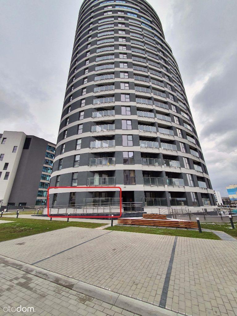 Wynajmę Lokal - Parter w Capital Towers do adapt.