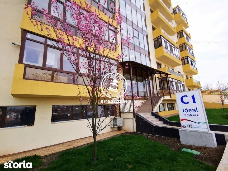 Apartament Nou 2 camere de vanzare Nicolina - C.U.G., etaj intermediar