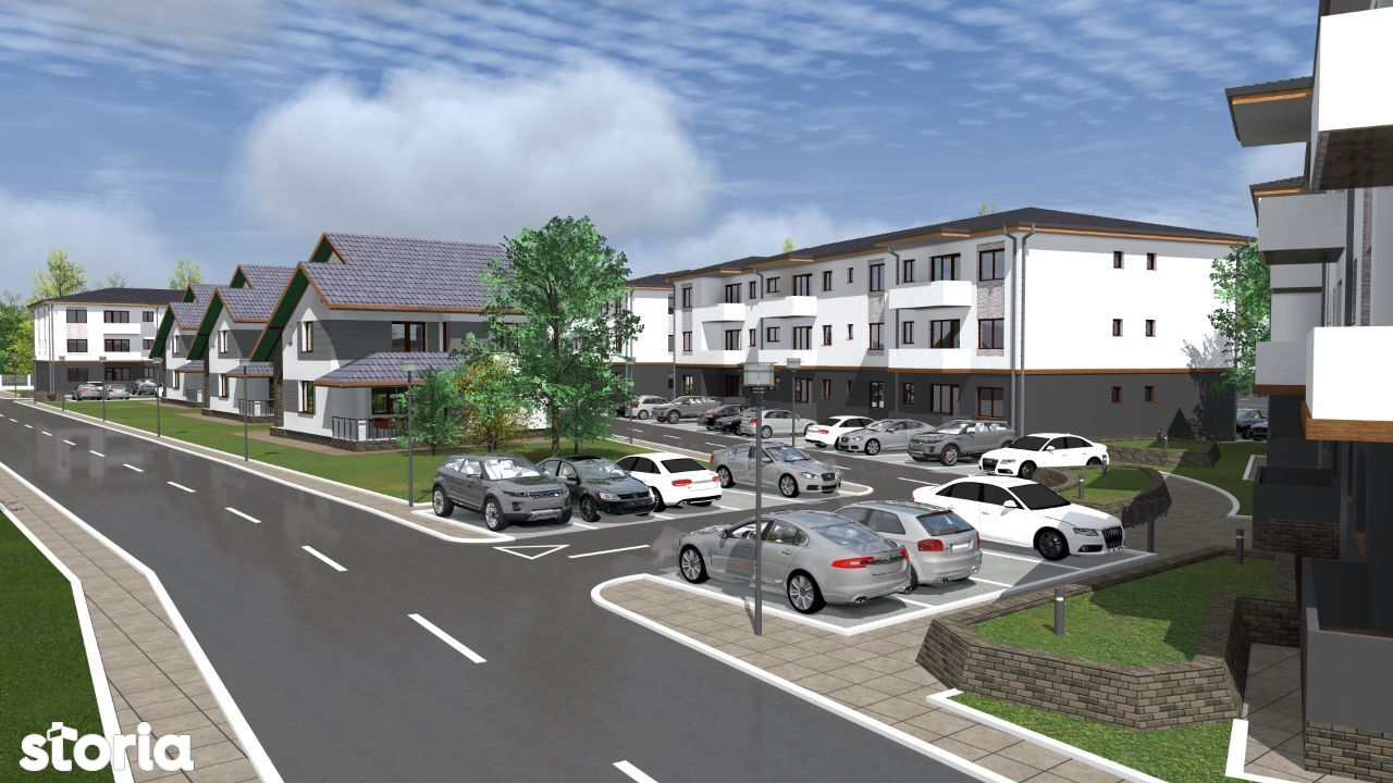 Apartamente 2 camere in complex nou Trivale Park