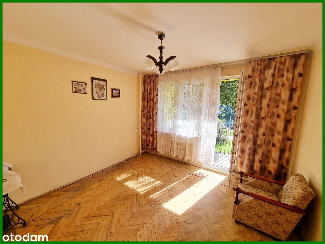 Gołonóg * 1 piętro z balkonem * 2 pokoje