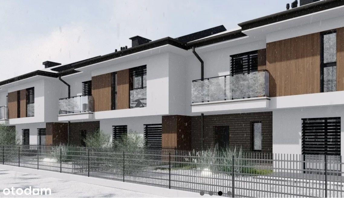 Słocina, szeregówka bez skosów, 125 m², 5 pokoi