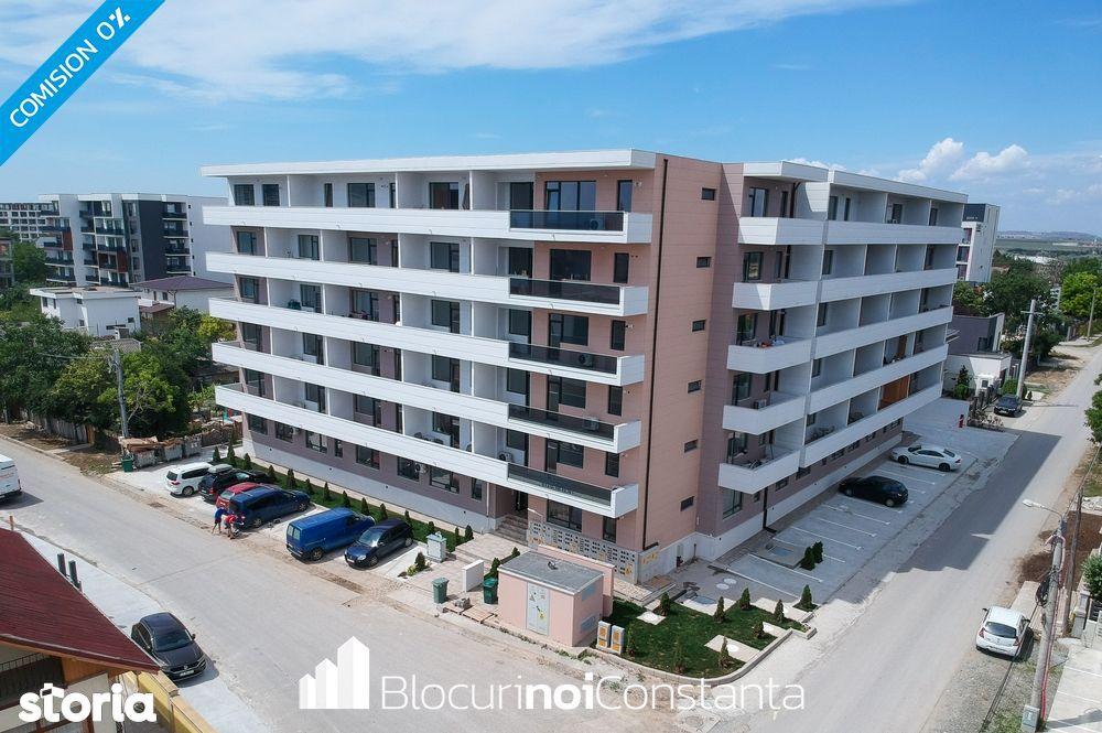 #Bloc finalizat: Apartament 3 camere la cheie, 117m² – Mamaia Nord