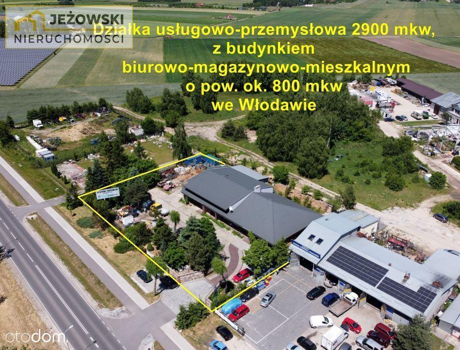 Budynek biurowo-usługowy 800 mkw we Włodawie.