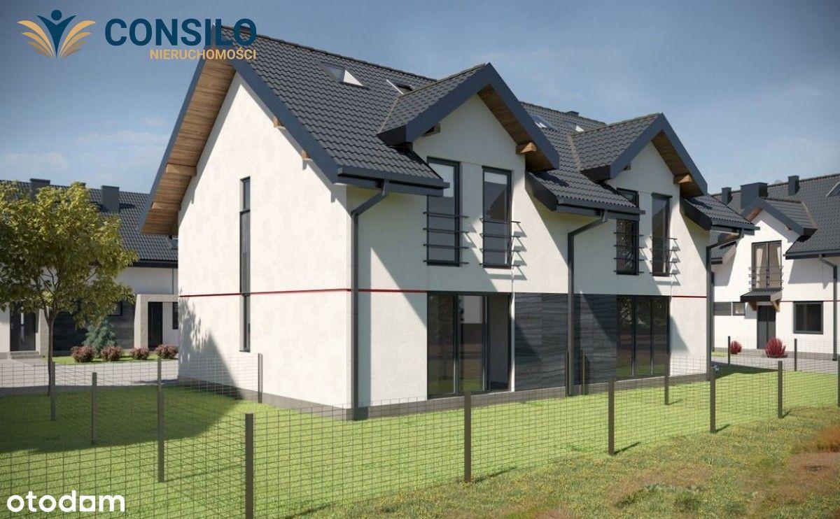 Nowe osiedle mieszkań w Modlniczce