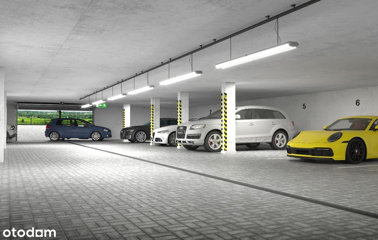 Słoneczne Wzgórze miejsce parkingowe hala garażowa