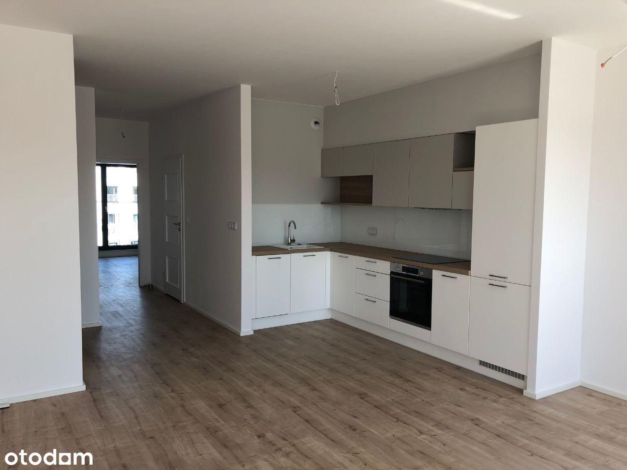 2 pokoje, jasne dwustronne mieszkanie w apartament
