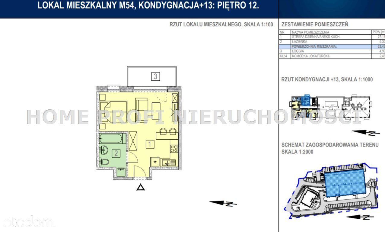 Dwupokojowe mieszkanie ul. Bałtycka - 258 000zł